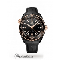 Omega Replica Seamaster Planet Ocean GMT 45.5mm Mens Watch O21563462201001