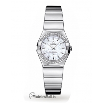 Omega Replica Constellation 24mm Ladies Watch O12315246005001