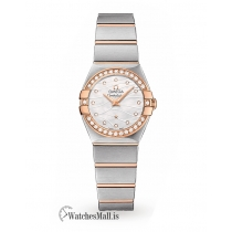 Omega Replica Constellation 24mm Ladies Watch O12325246055012