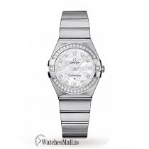 Omega Replica Constellation 27mm Ladies Watch O12315276055005