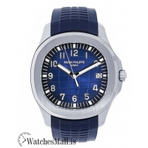 Patek Philippe Aquanaut 20th Anniversary White Gold Blue 42MM Watch 5168G001