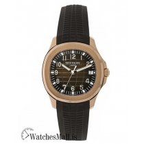 Patek Philippe Replica Aquanaut Rose Gold Date Self-Winding 40MM Watch 5167R001