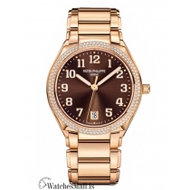 Patek Philippe Replica Twenty 4 Rose Gold Brown Dial 36MM Watch 73001200A010