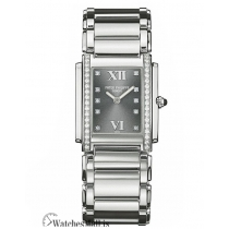 Patek Philippe Replica Twenty 4 Steel Gray Diamond Dial 30MM Watch 491010A010