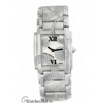 Patek Philippe Replica Twenty 4 White Gold MOP Diamond Swirl 30MM Watch 491049G001