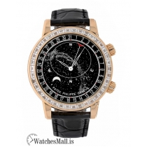 Patek Philippe Replica Grand ComplicationsRose Gold Gem Celestial 44MM Watch 6104R001