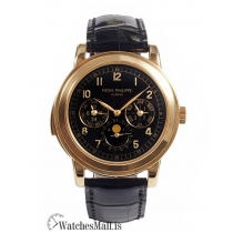 Patek Philippe Replica Grand ComplicationsRose Gold Perpetual Calendar Watch 5074R001