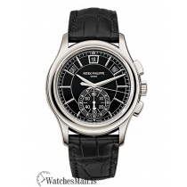 Patek Phillippe Replica Complications Platinum Flyback Chronograph 42MM Watch 5905P010