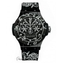 Hublot Replica Big Bang Broderie Ceramic 41MM Watch 343.CS.6570.NR.BSK16