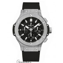 Hublot Replica Big Bang Stainless-Steel Black Chronograph 44MM Watch 301.SX.1170.RX