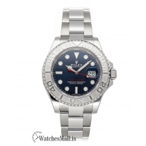 Rolex Replica Blue Dial Yacht-Master 40mm 16622