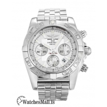 Breitling Chronomat Replica Quartz Steel 44 AB0110