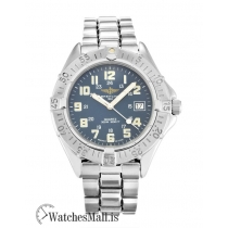 Breitling Colt Replica Blue Arabic Quartz A57035 38MM