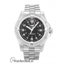 Breitling Colt Replica Black Arabic Quartz A74380 41.1MM