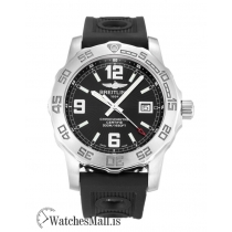 Breitling Colt Replica Black Quarter Arabic Quartz A74387 44MM
