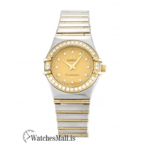 Omega Constellation Replica Quartz Mini 1267.15.00 22.5MM
