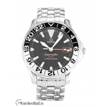 Omega Seamaster Replica GMT Black Dial 2534.50.00 41MM