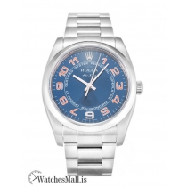 Rolex Air King Replica Automatic Blue Dial 114200 34MM