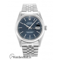 Rolex Datejust Replica Automatic Blue Baton 16234 36MM