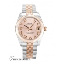 Rolex Mid Size Datejust Replica Automatic 178271 Rose Gold & Steel (Oyster) 31MM