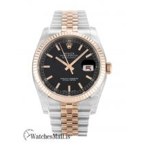 Rolex Datejust Replica Rose Gold & Steel Bracelet 116231 36MM