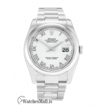 Rolex Datejust Replica White Dial Automatic 116200 36MM