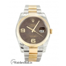Rolex Datejust Replica Floral Arabic Dial 116233-36 MM