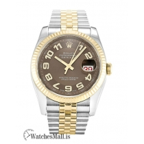 Rolex Datejust Replica Dial  Bronze Arabic 116233-36 MM