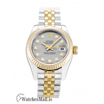 Rolex Datejust Replica Automatic Steel & Yellow Gold Steel & Yellow Gold (Jubilee) Lady 179173 26MM