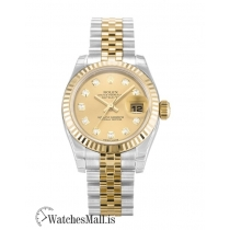 Rolex Datejust Replica Automatic Steel & Yellow Gold Lady 179173 26MM