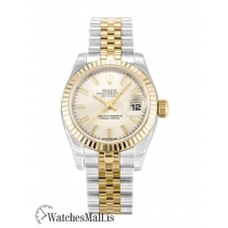 Rolex Datejust Replica Automatic Silver Baton Lady 179173 26MM
