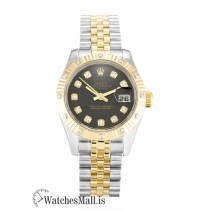 Rolex Datejust Replica Steel & Yellow Gold set with Diamonds Automatic Lady 179313 26MM