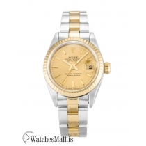 Rolex Datejust Replica Automatic Steel & Yellow Gold (Oyster) Lady 69173 26MM