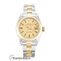 Rolex Datejust Replica Steel & Yellow Gold Lady 69173 26MM