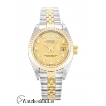 Rolex Datejust Replica Automatic White Roman Numeral Lady 69173 26MM