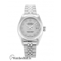 Rolex Datejust Replica Automatic Silver Jubilee Arabic Lady 69174 26MM