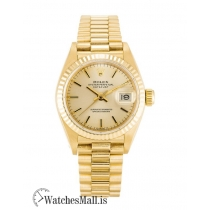 Rolex Datejust Replica Automatic Yellow Gold (President)  Lady 69178 26MM