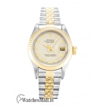 Rolex Datejust Replica Automatic Ivory Roman Numeral Lady 69173 26MM