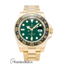 Rolex GMT Master II Replica AutomaticYellow Gold 116718 LN 40MM