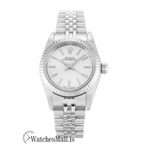 Rolex Lady Oyster Perpetual Replica White Gold 76094 26MM