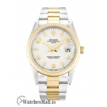 Rolex Oyster Perpetual Date Replica Steel & Yellow Gold 15223 34MM