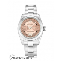 Rolex Lady Oyster Perpetual 176200 Automatic Salmon Maxi 26MM