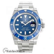 Rolex Submariner Blue Dial 116619 LB 40MM Replica Watch