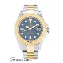Rolex Yacht Master Replica Steel & Yellow Gold 168623 35MM