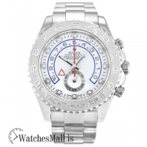 Rolex Yacht Master White Automatic 116689 44MM