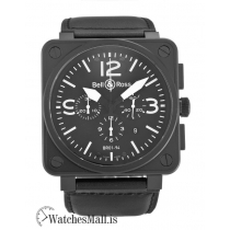 Bell and Ross Replica  BR 94 Chronograph Carbon Quartz 46MM