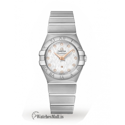 Omega Replica Constellation 27mm Ladies Watch O12310276052001