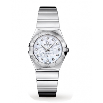 Omega Replica Constellation 27mm Ladies Watch O12310276055002