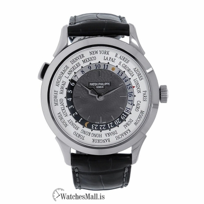 Patek Philippe Replica Complications Reference White Gold 38MM Watch 5230G001