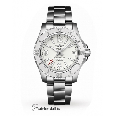 Breitling Replica Superocean Automatic 36 White Professional III A17316D21A1A1